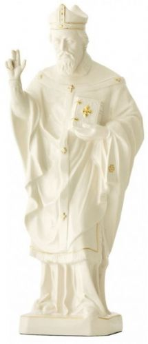 Belleek Saint Patrick Figurine